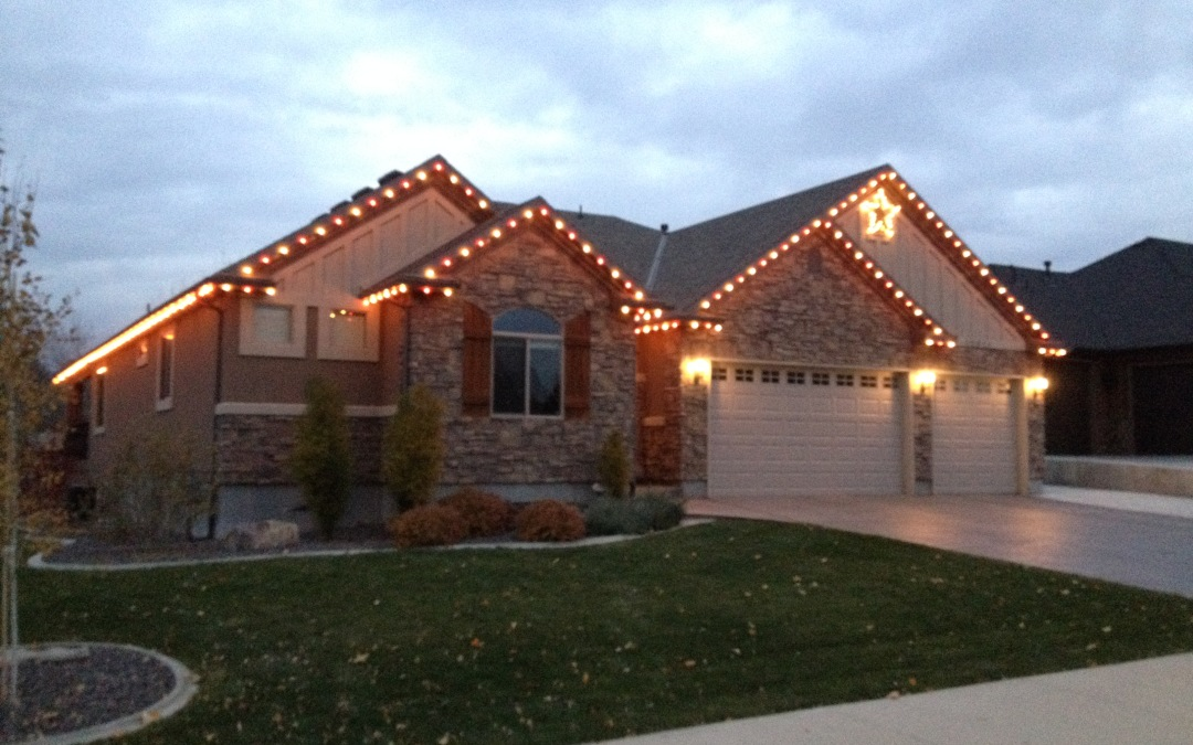 Christmas Light Installation Services Ogden Utah | Wilkins Landscaping